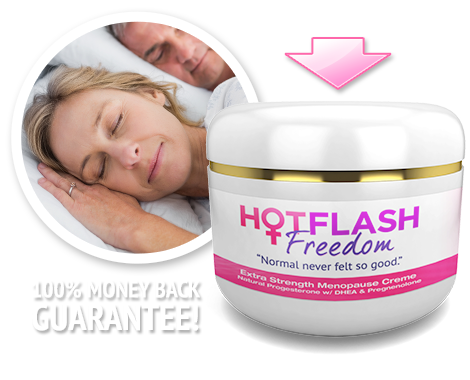 Daily orgasm preventing hot flashes